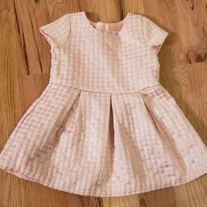 Children's Place Rose Gold Tailored Dress